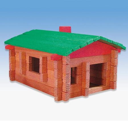农场木屋积木组-收纳盒装 - gokids 玩乐小子